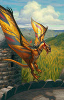 DragonSinger by ericDeschamps