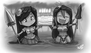 Island Birthday Wishes by ShoNuff44 by dethmetal