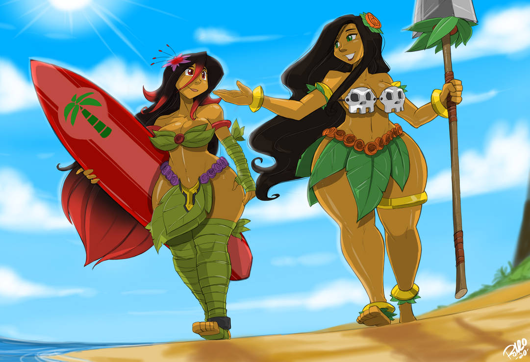 Coconut Island Tour by ShoNuff44