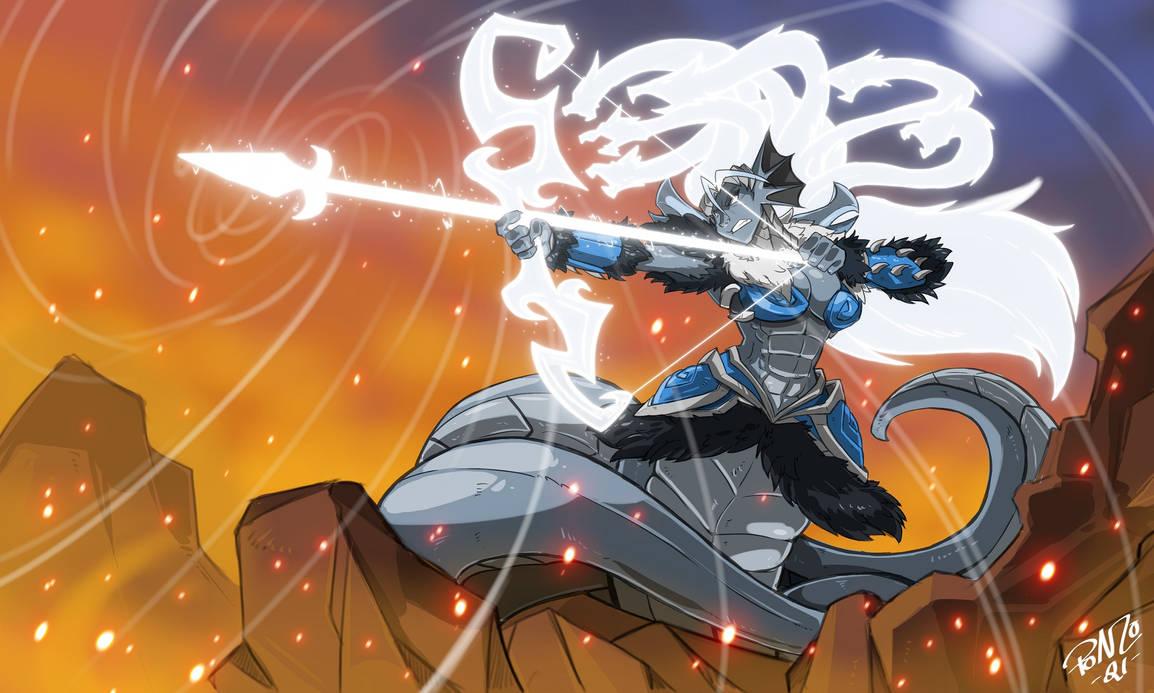 Witchlight Naga by ShoNuff44