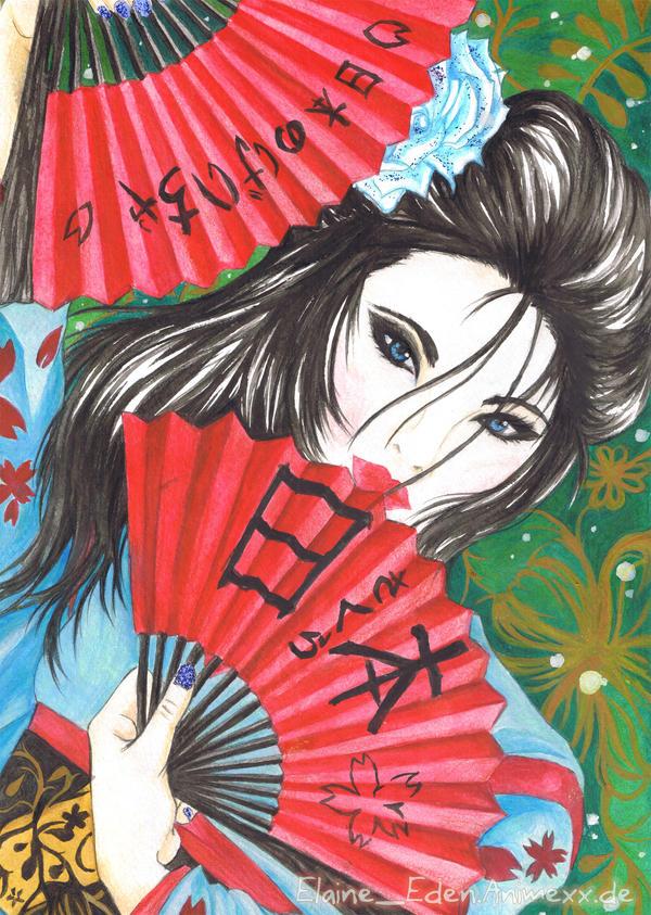 The Geisha by Elaine-Eden