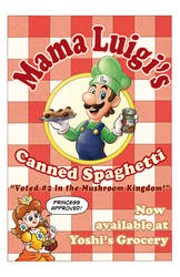 Mama Luigi's Canned Spaghetti by nessperez