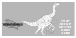 Therizinosaurus cheloniformis by BlueCea