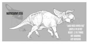 Nasutoceratops titusi by BlueCea