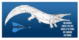 Prionosuchus plummeri by BlueCea