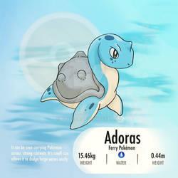 Baby Pokemon - Adoras