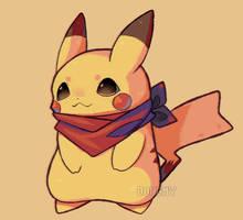 .fa. Pikachu by D0UGHY