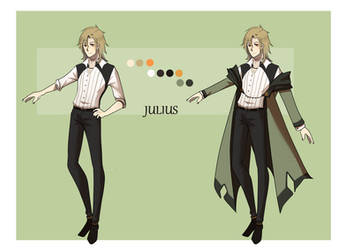 .m. Julius Reference by D0UGHY