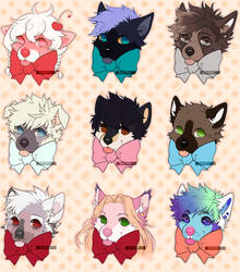.YCH. Puppers by D0UGHY
