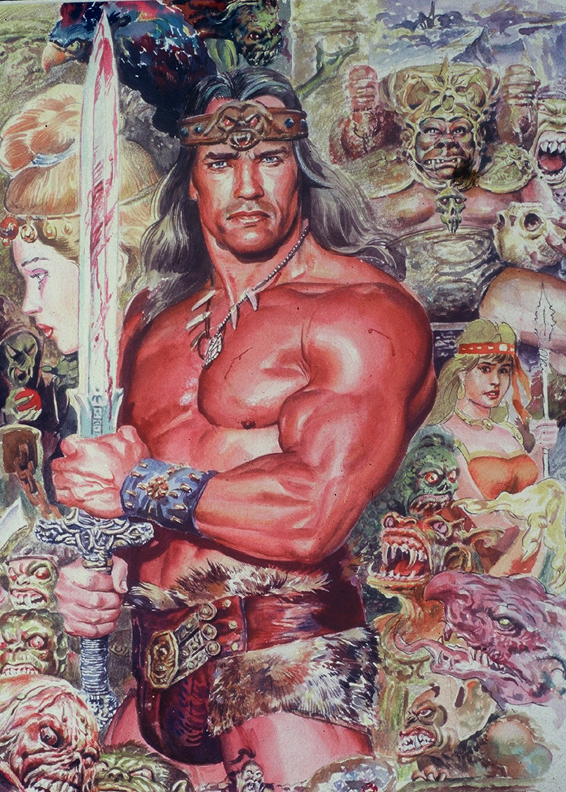 Arnold as Conan the Barbarian by ~Asiri57