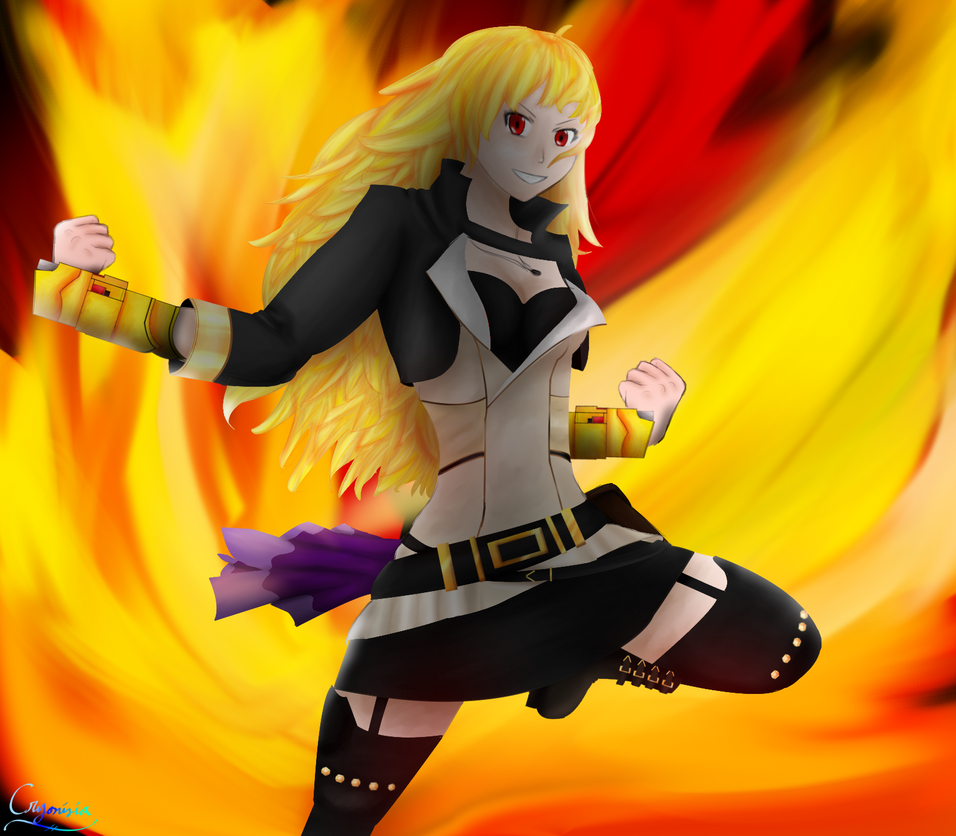 Yang Xiao Long Wallpaper: Yang Xiao Long By Cryonisia On DeviantArt