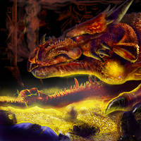Smaug's Lair by convoy81
