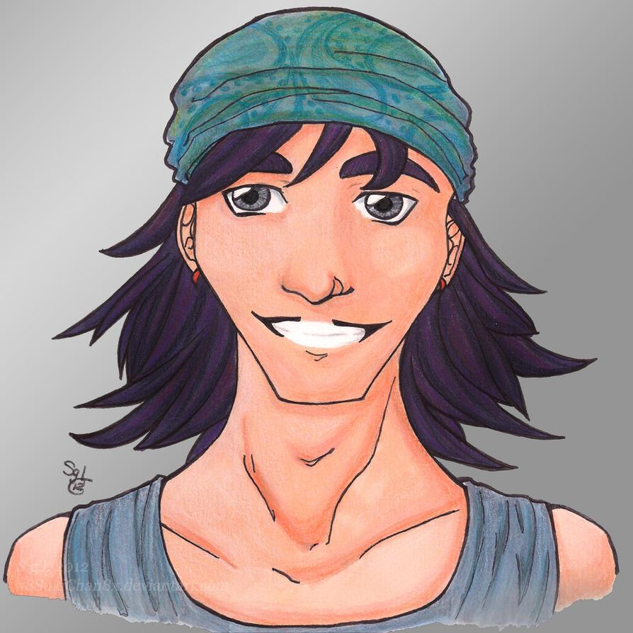 Portrait of Blaine by x8SukiChan8x