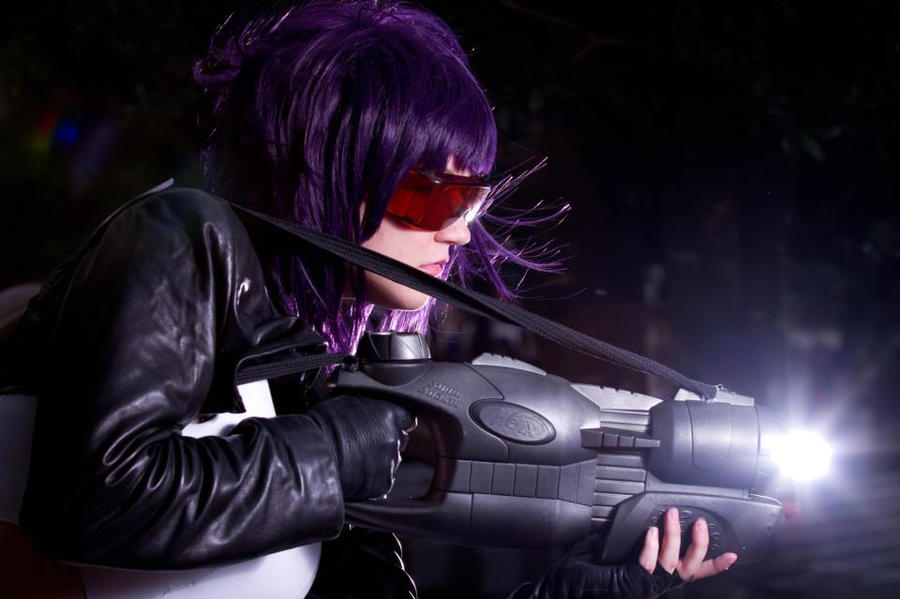 EPIC BATTLE MOTOKO KUSANAGI by KakashiAholic