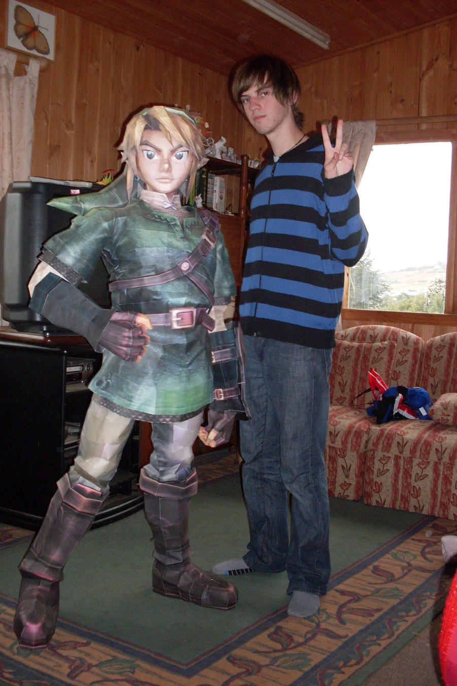 me and Link by AZBY