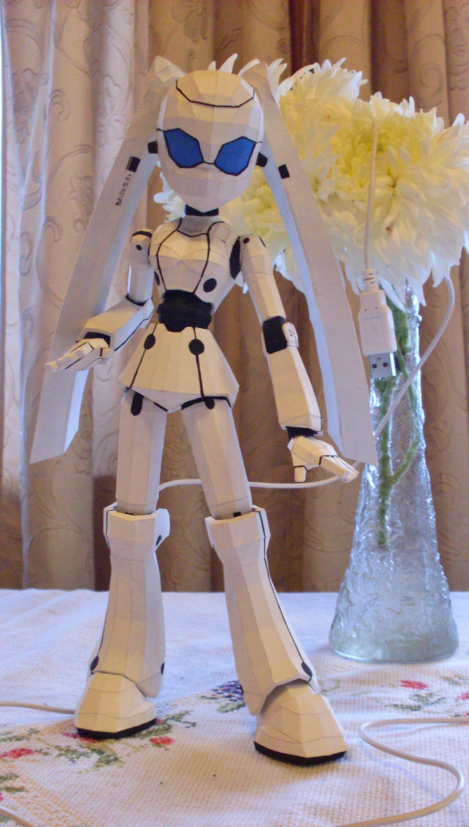 Drossel Papercraft by AZBY