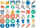Flat 2013 Toolbar Icons