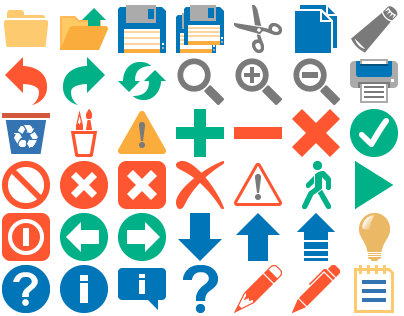 Flat 2013 Toolbar Icons by toolbaricons2000