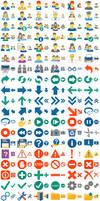 Hot Flat Icons