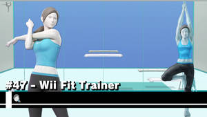 Smash Ultimate Wallpaper #47 - Wii Fit Trainer