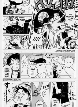 ONE PIECE: THE NEW CP9 MEMBER page 1
