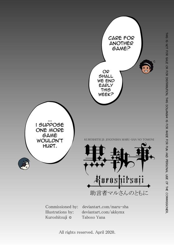 Kuroshitsuji: with Counselor Maru-san Page 4/4