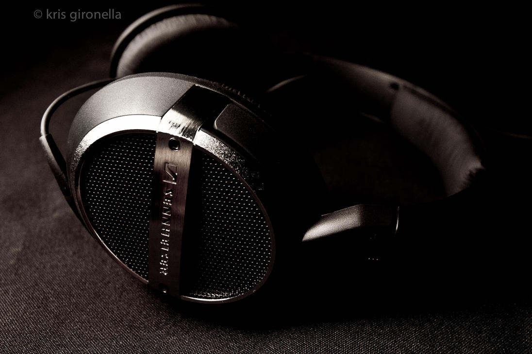 Kris Gironella: Audiophile & Sennheiser Product Shot