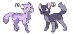 Cat adopt[2-2] by VisLovesCats2986