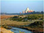 Other side Taj Mahal