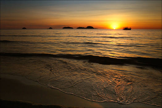 Sunset on the Gulf of Siam