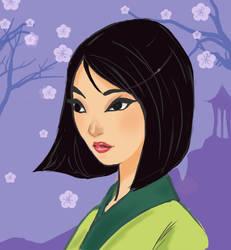 Mulan by Ratgirlstudios