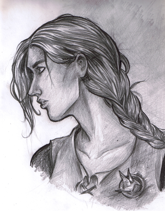 Semi-Realistic Katniss by Ratgirlstudios