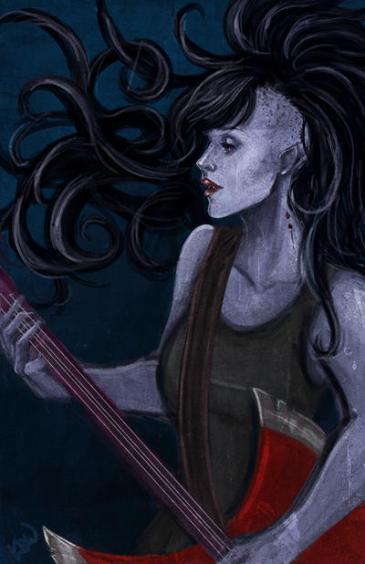 Marceline by Ratgirlstudios