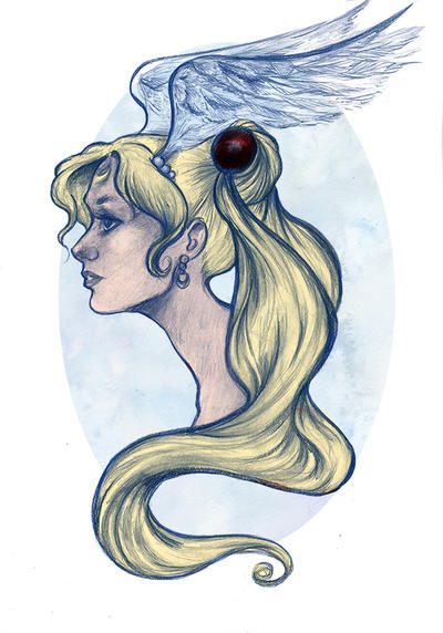 Sailor Moon Bust by Ratgirlstudios