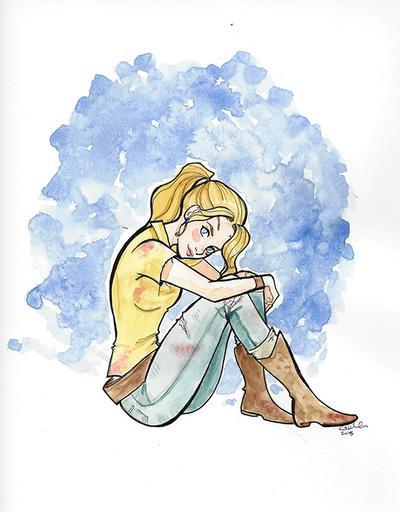Beth Greene 2-watercolor by Ratgirlstudios