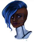 Sailor Mercury Redesign Portrait