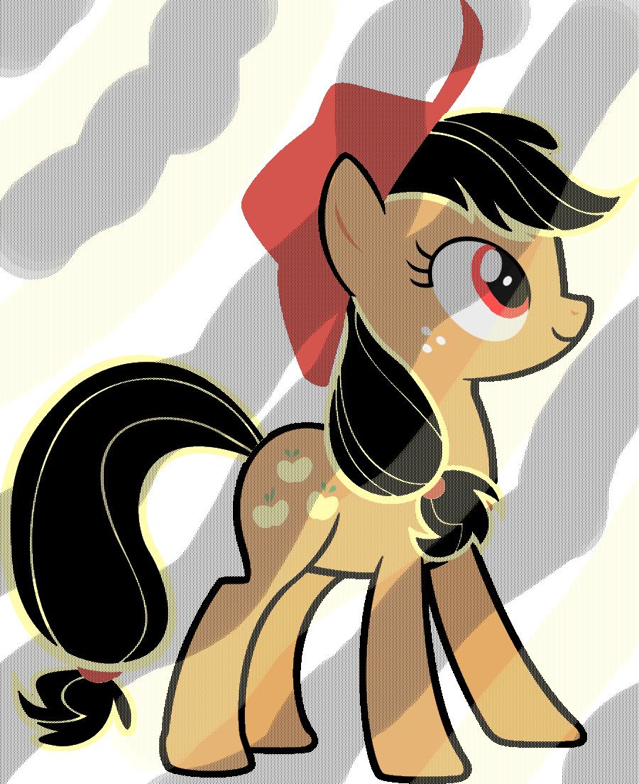 Applejack by PONITA-GOLD-EVIL