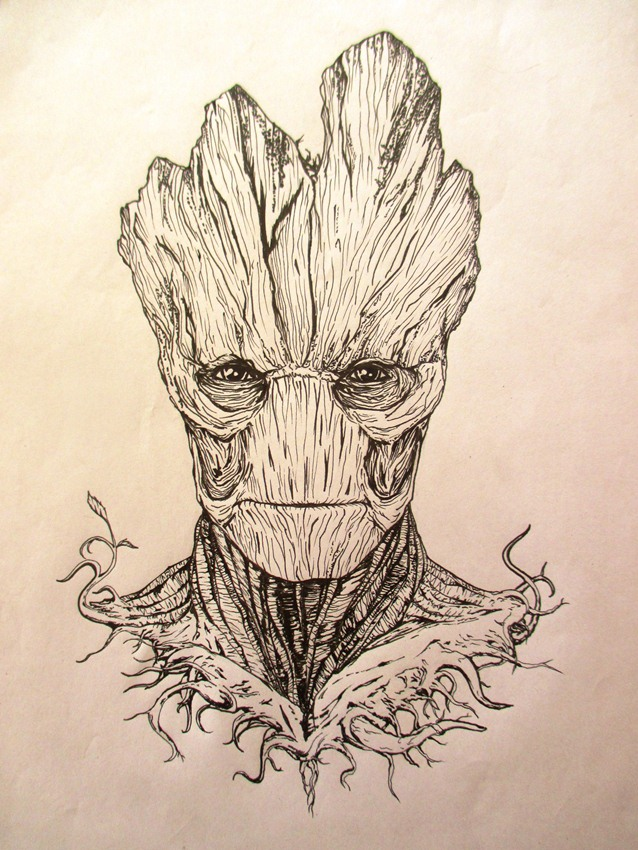 I am Groot by scarredblue