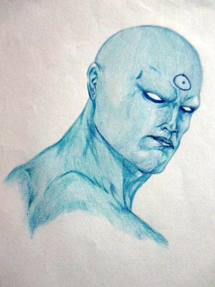 Dr. Manhattan by scarredblue