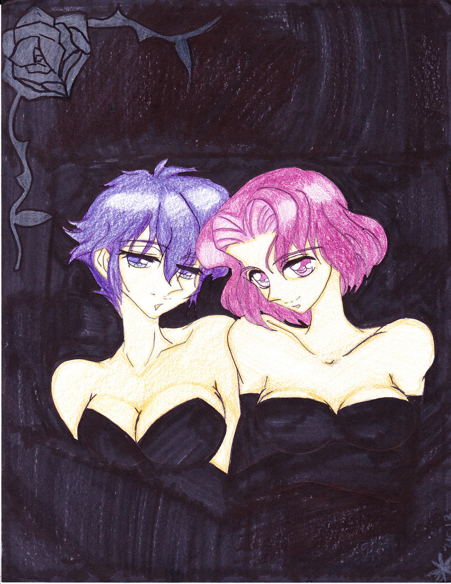 Rose Garden Anime: In The Rose Garden / Utena Fanart
