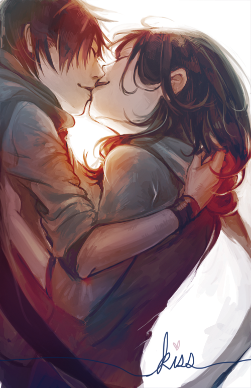 Kiss by ah-bao