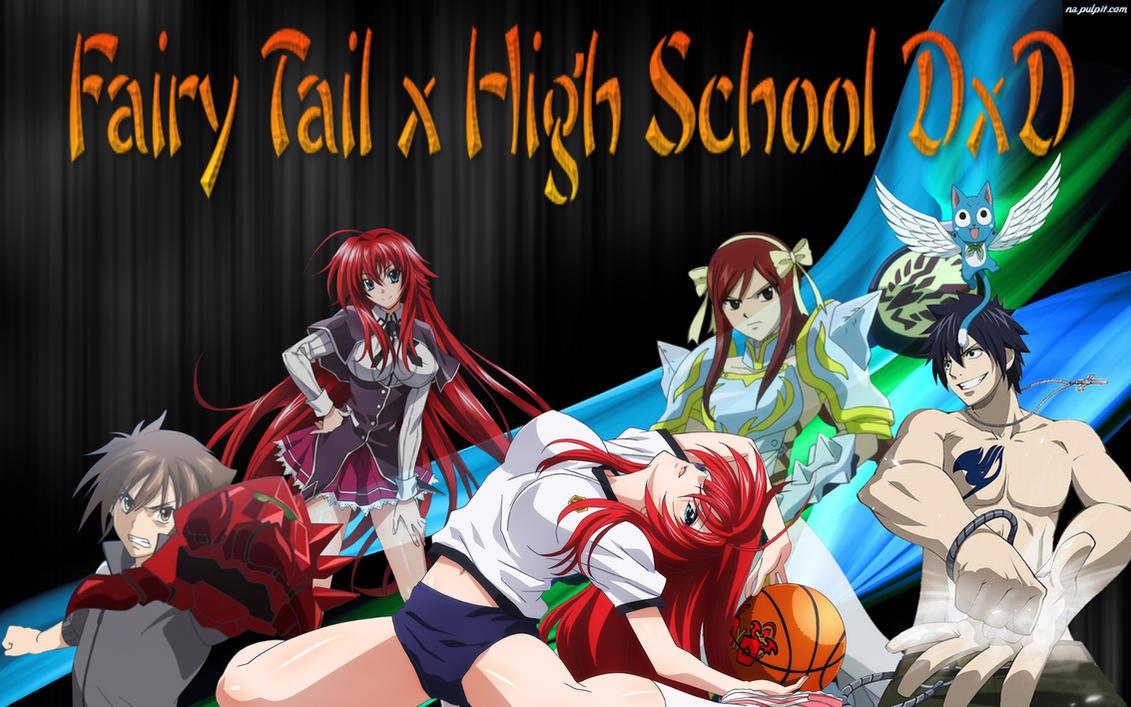 fairy tailhigh school love - photo #32
