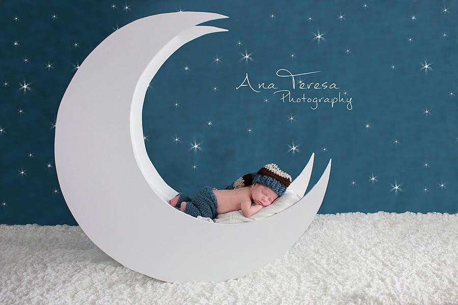 Sleeping on the moon
