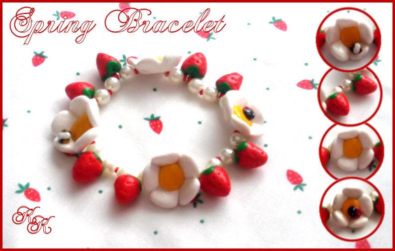 Spring bracelet by Cateaclysmic