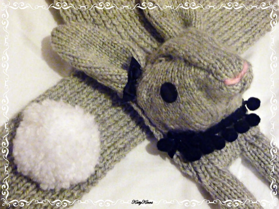 Steel Bunny Scarf by Cateaclysmic