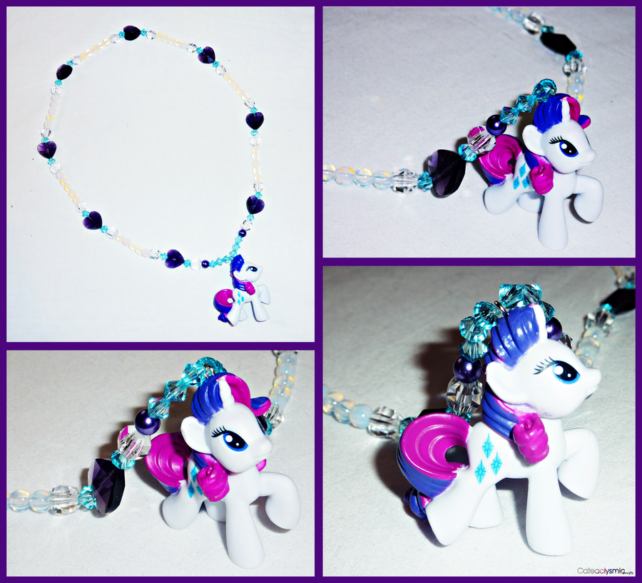 My little pony rarity charm necklace by cateaclysmic on deviantart my little pony rarity charm necklace by cateaclysmic aloadofball Gallery
