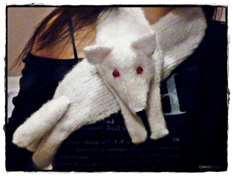 Ghost the Direwolf Scarf by Cateaclysmic