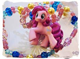 Pinkie Pie Necklace by Cateaclysmic