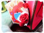 Red Velvet Cupcake Keychain