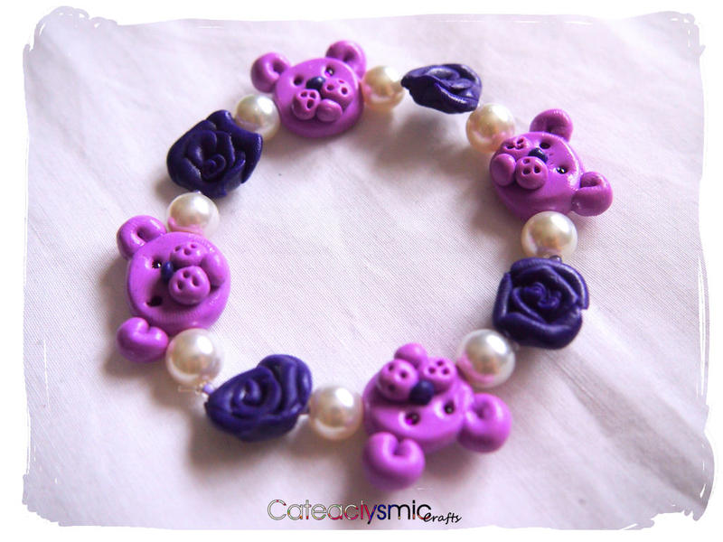 Pink Roses With Teddy Bear Purple Rose Teddy Bear